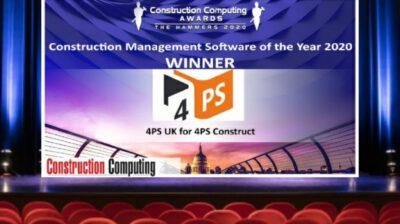 4PS UK wins Software of the Year Award