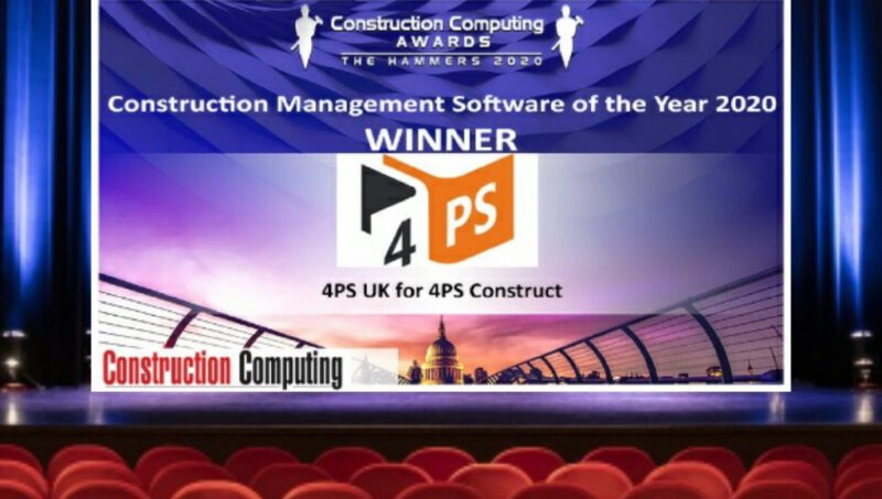 4PS UK wins Software of the Year Award
